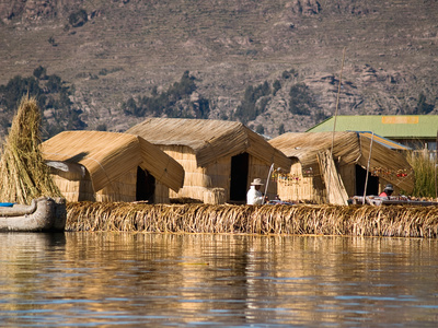 Reise Titicaca See